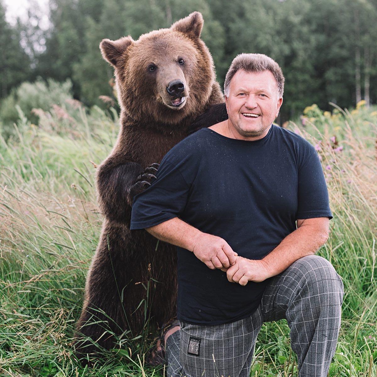 фото с медведем